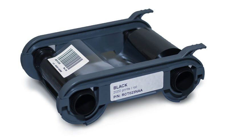 fita ribbon black para impressora